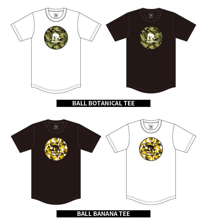 EGHOZARUデザインTシャツ