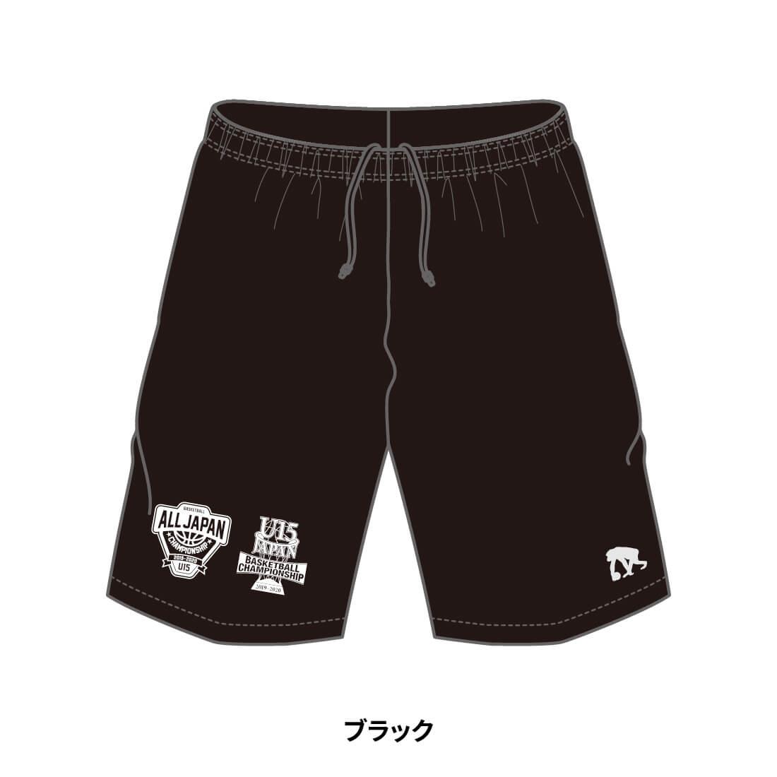 【全国U15限定】EGOZARU COLOR SHORTS ブラック