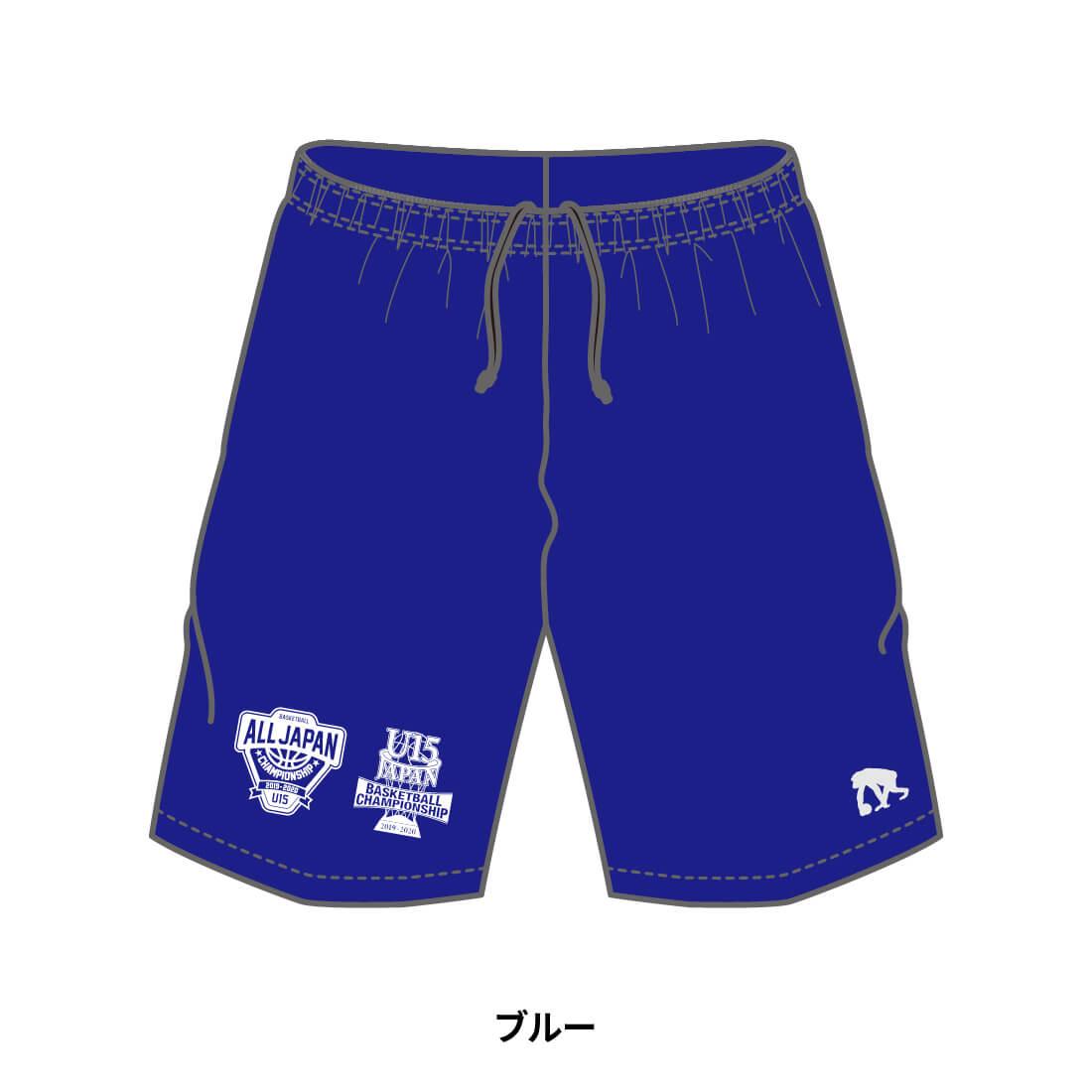 【全国U15限定】EGOZARU COLOR SHORTS ブルー