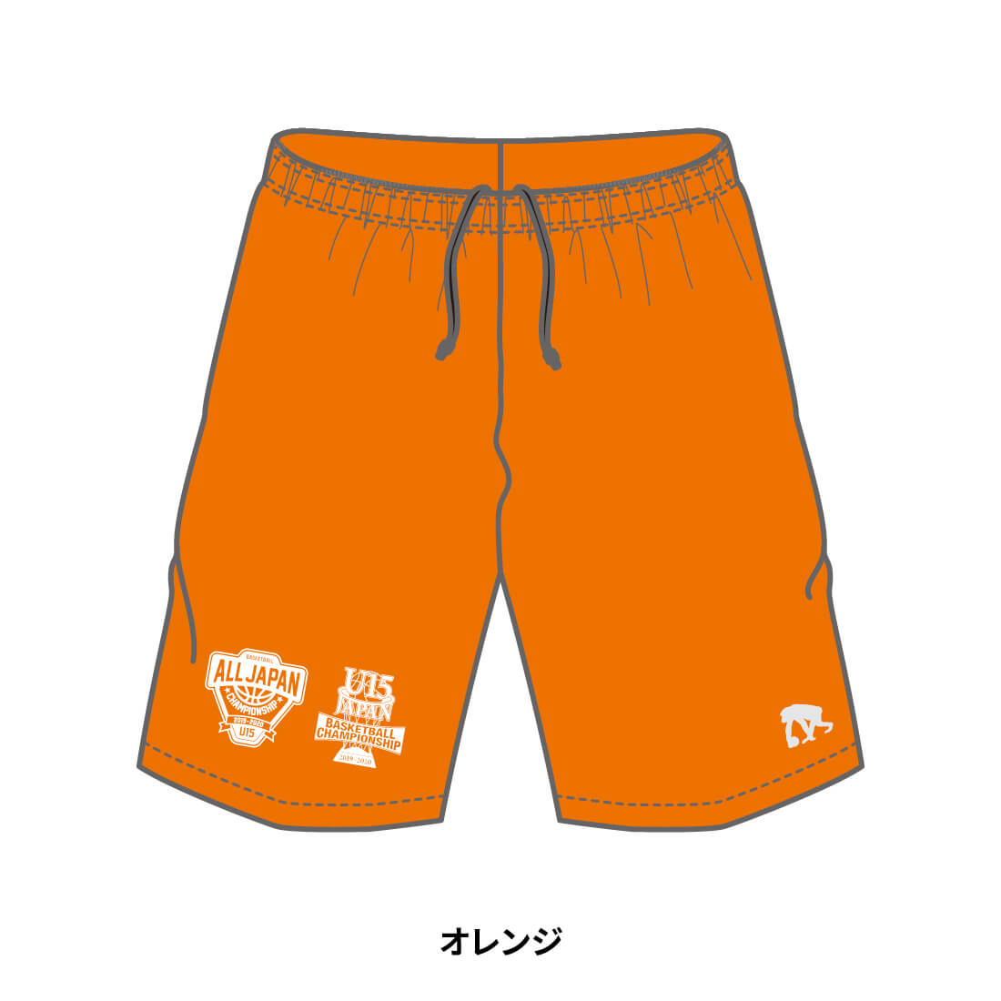 【全国U15限定】EGOZARU COLOR SHORTS オレンジ