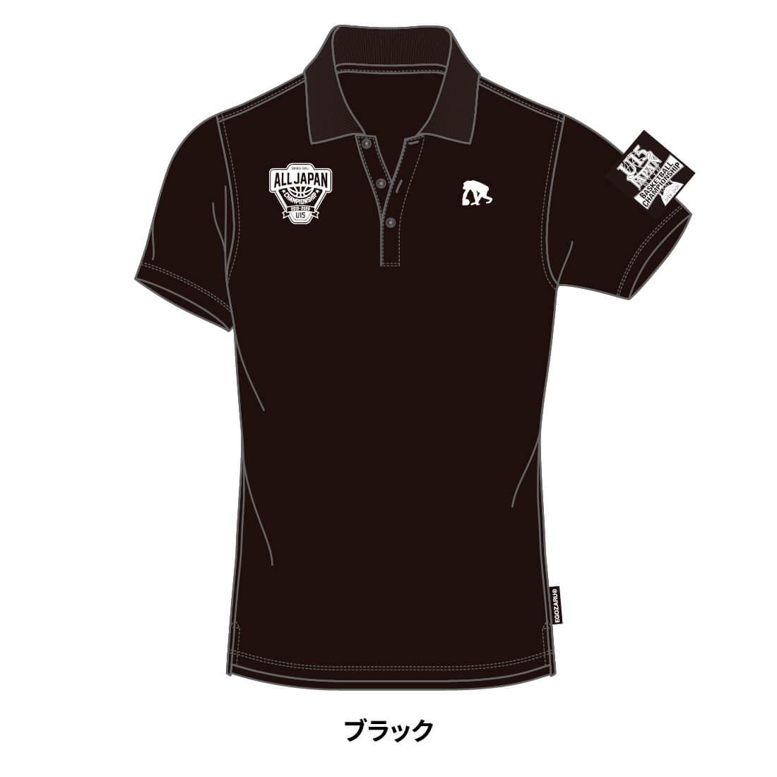 全国U15限定】EGOZARU POLO SHIRTS ブラック