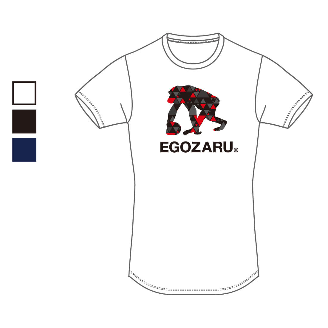 【全国U15限定】EGOZARU LOGO T-SHIRTS B