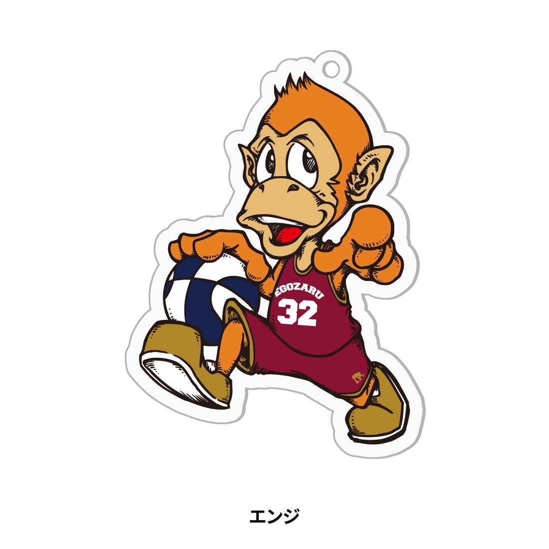 【第51回全ミニ限定】アクリルキャラクターキーホルダー バーガンディ