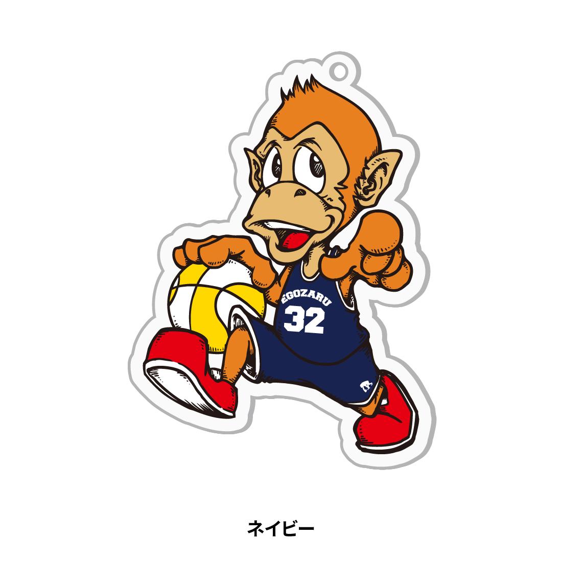【第51回全ミニ限定】アクリルキャラクターキーホルダー ネイビー