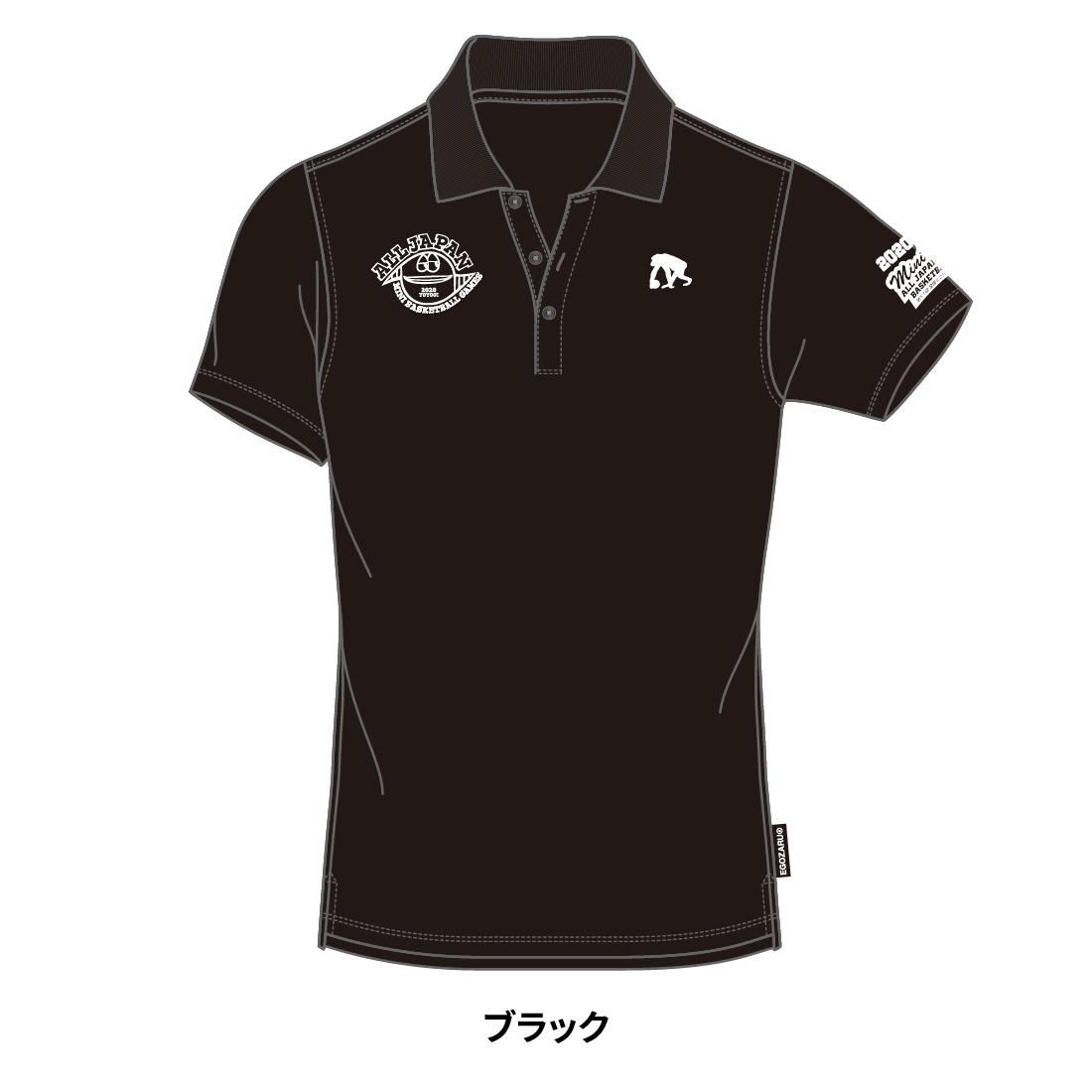 【第51回全ミニ限定】EGOZARUポロシャツブラック