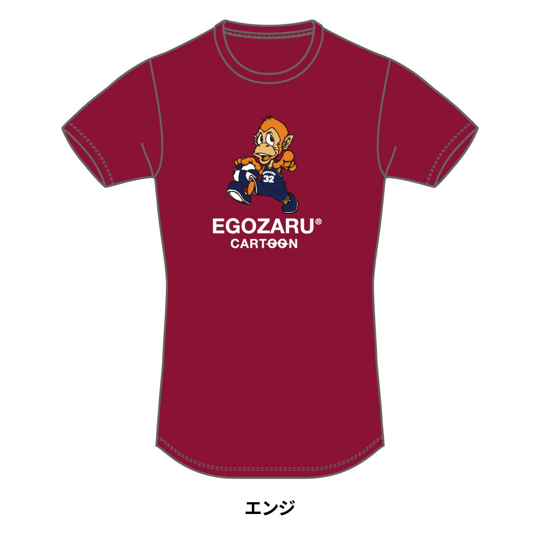 【第51回全ミニ限定】CARTOON tommy TシャツB(半袖)バーガンディ