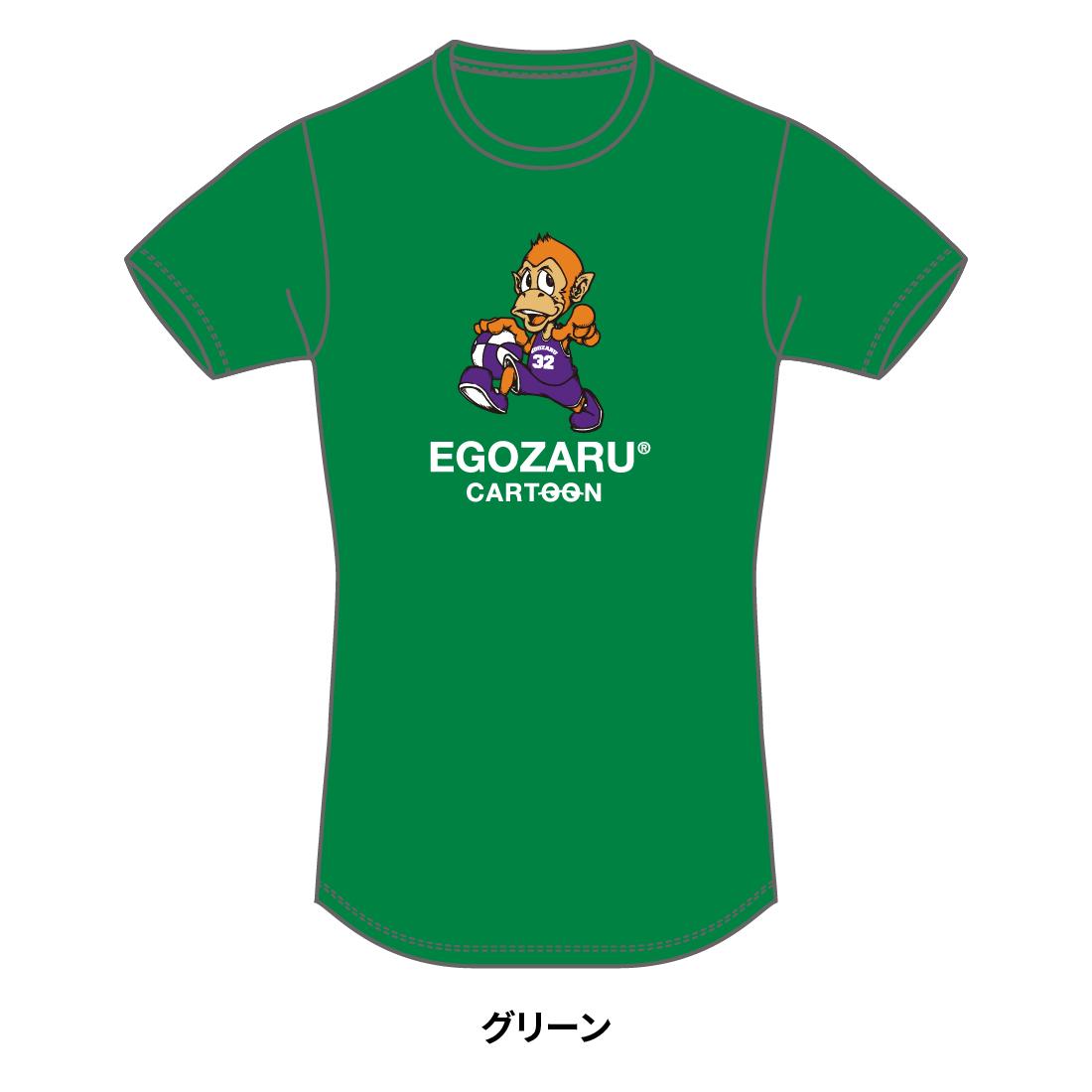 【第51回全ミニ限定】CARTOON tommy TシャツB(半袖)グリーン