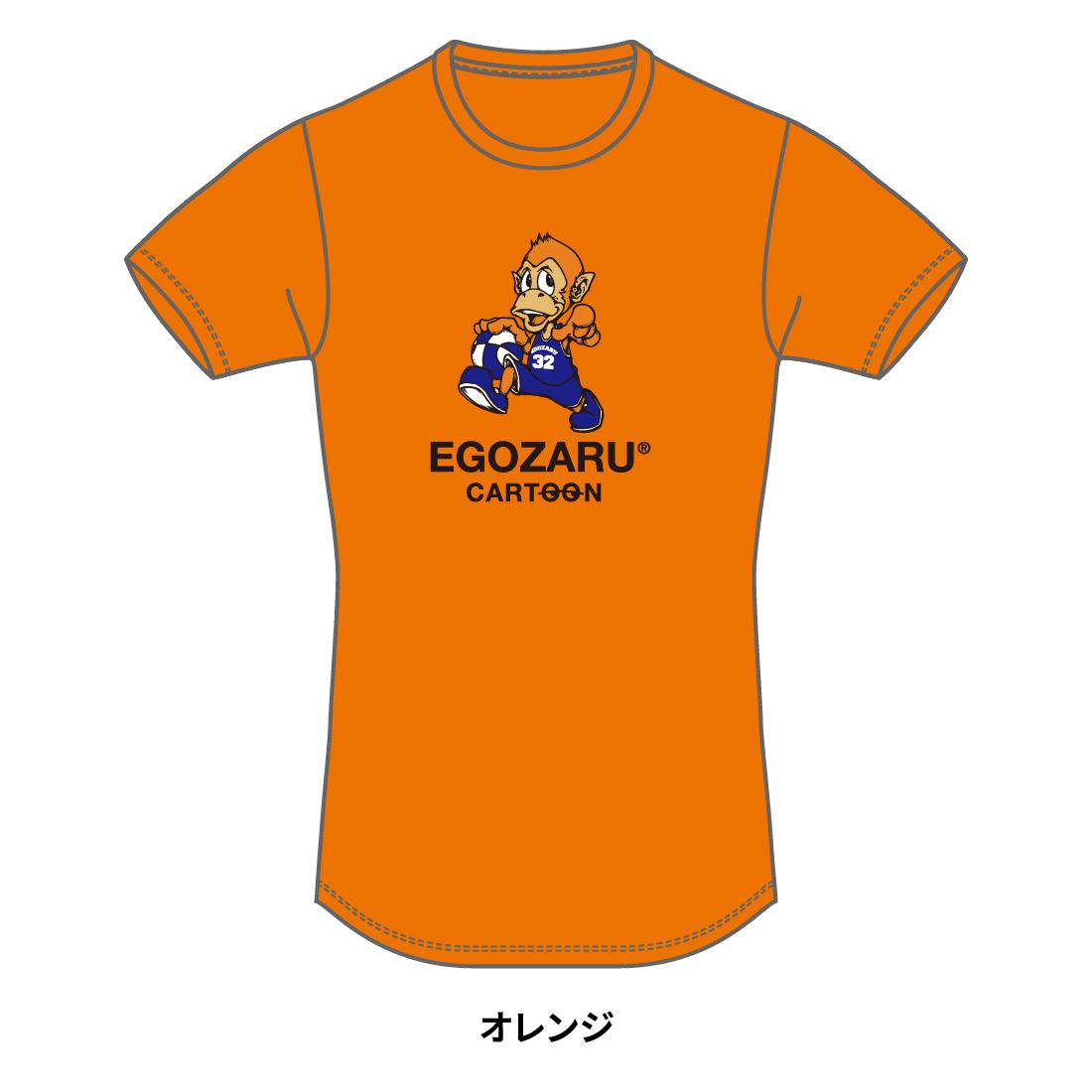 【第51回全ミニ限定】CARTOON tommy TシャツB(半袖)オレンジ