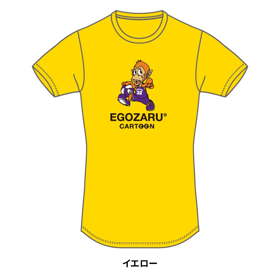 【第51回全ミニ限定】CARTOON tommy TシャツB(半袖)イエロー